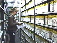BBC tape library