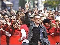 Rock singer Bono
