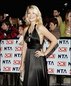 TV presenter Holly Willoughby