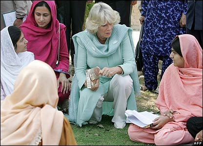 Camilla, Duchess of Cornwall and local women