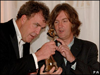 Jeremy Clarkson and James May from Top Gear