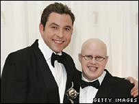 David Walliams and Matt Lucas