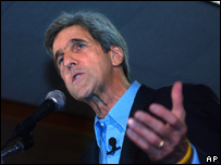 US Senator John Kerry