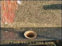 "Black humour: ""I Told You's I Was Sick"""