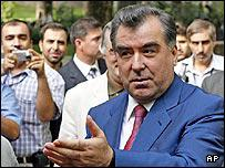Tajik President Emomali Rakhmonov 