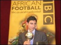 Egypt and Ahly's Mohamed Barakat