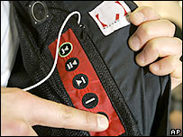 MP3 in jacket