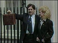 Nigel Lawson, Tory Chancellor in 1988.