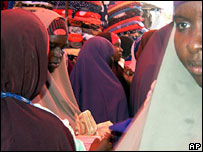 Women in Mogadishu
