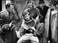 Scene from The Quatermass Experiment