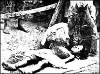 Body of Armenian girl