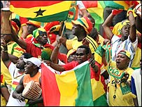 Ghanaian football fans