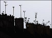 Roof tops in Castlemilk
