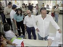 Votaciones en Cataluña