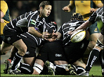 Ospreys scrum-half Jason Spice