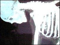 A bent spine