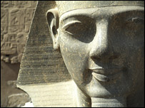 File image of an ancient Egyptian sculpture