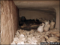 A chamber found in the Valley of Kings in February 2006