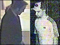 CCTV images of suspects withdrawing cash in Eastbourne