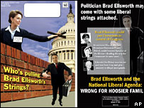 Republican campaign poster using image of Nancy Pelosi