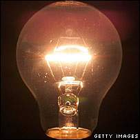 An energy-saving light bulb