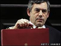 Chancellor Gordon Brown, prior to the 2005 Budget