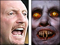 Ian Holloway and Mr Barlow the vampire from Salem's Lot