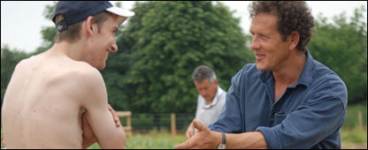 Monty Don and project member