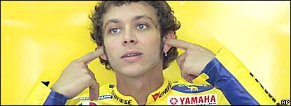 Valentino Rossi tiene calidad, carisma y carácter.