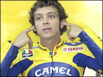 Valentino Rossi tiene calidad, carisma y car�cter.