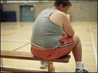 Overweight boy