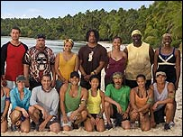 Some of the contestants from Survivor