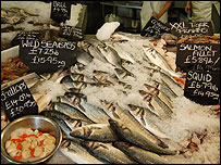 Fish in Whitstable