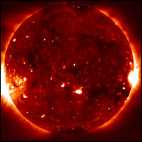 X-Ray telescope image of the Sun taken by Hinode  Image: Jaxa