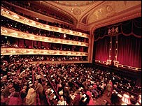 Royal Opera House, Covent Garden.