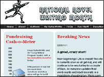 NaNoWriMo website