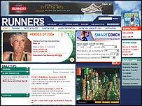 Runner's World Magazine website