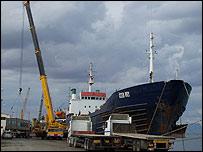 Famagusta port, Cyprus