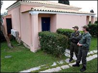 The Shepherd family bungalow in Corfu