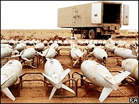 Iraqi unconventional weapons - decommissioned - 1998 file photo