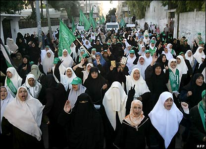 March of Palestinian women