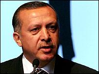 رئيس وزراء تركيا رجب طيب اردوغان