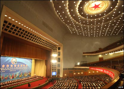 The summit gets underway in Beijing's Great Hall of People