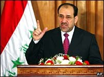 Iraqi Prime Minister Nouri Maliki (file photo)