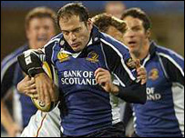 Felipe Contepomi scored 25 of Leinster's points