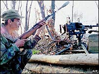 Bosnia Croatian soldier in 1994