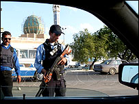 Checkpoint in Baghdad
