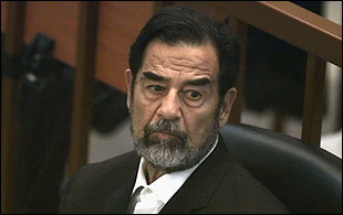 sadam husein death penalty: