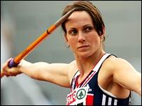Olympic bronze medallist Kelly Sotherton