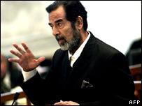 Saddam Hussein, ex presidente de Irak